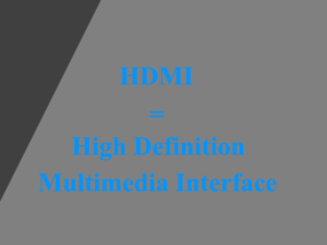 AV-Receiver mit HDMI
