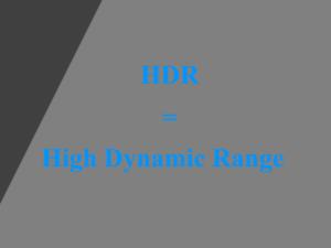 AV-Receiver HDR